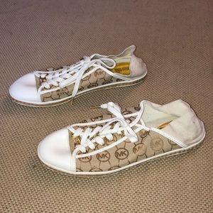 Michael Kors monogrammed sneakers